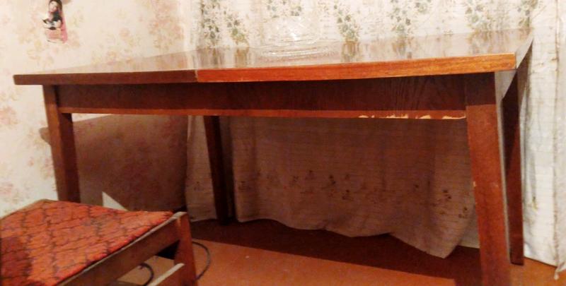 Стол обеденный,раздвижной,деревянный - Фото 5