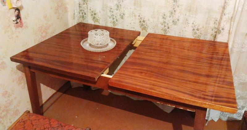 Стол обеденный,раздвижной,деревянный - Фото 2