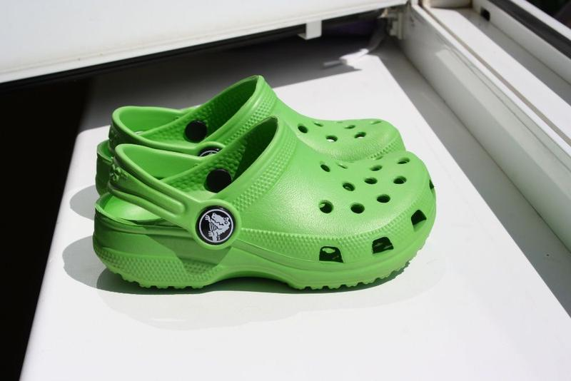 Детские сабо крокси Crocs размер С6 7 23-24 оригинал
