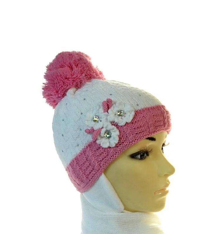Комплект детский шапка+шарф