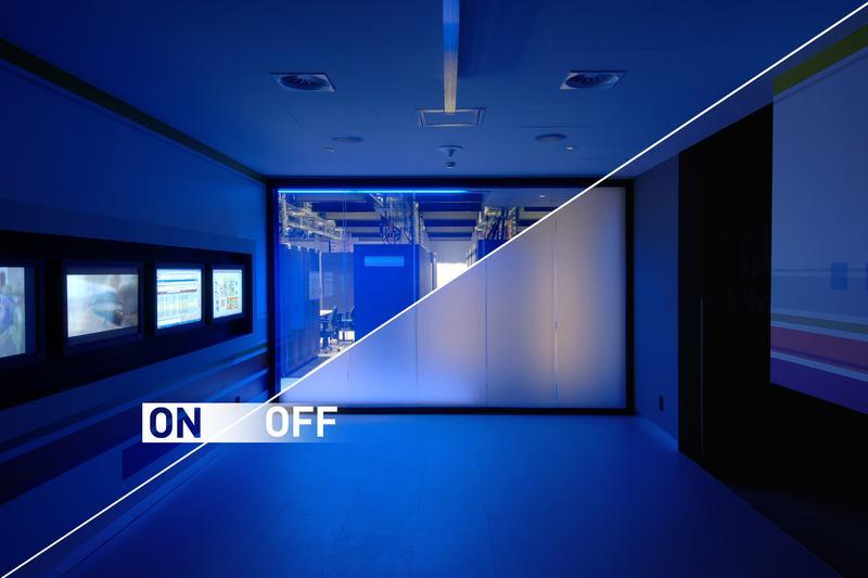 Smart пленка (смарт стекло) для офисов, квартир, витрин магазинов