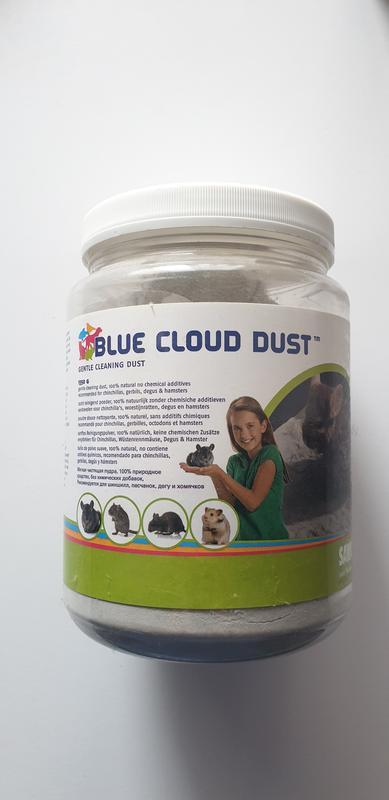 Порошок для купания грызунов  Blue cloud dust