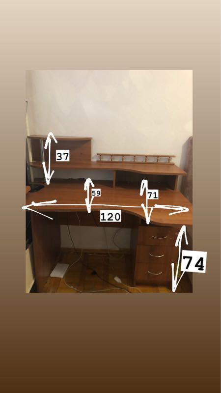 Стол письменный-рабочий. - Фото 2