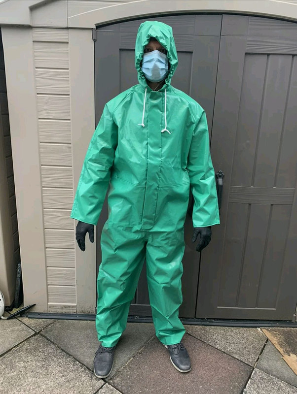 Химический костюм Sioen Chemtex chemical protection