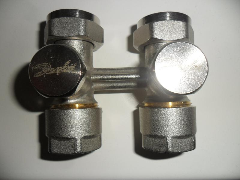 термостатестический клапан danfoss