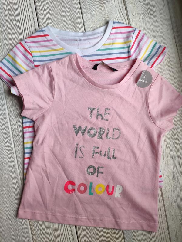 Набор футболок футболка george