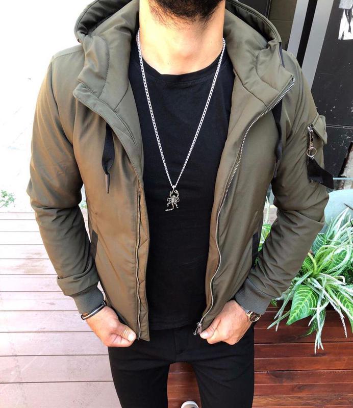 Мужская Куртка (Турция) - Фото 2