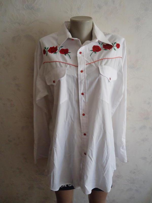 Стильная рубаха р50-52