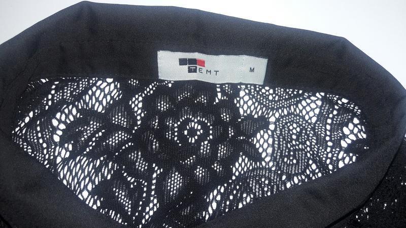 Гепюровая ажурная блузка р.м - Фото 4