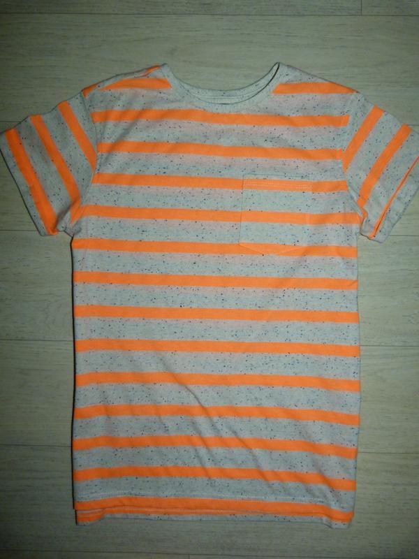 Яркая футболка в полоску george 11-12 лет