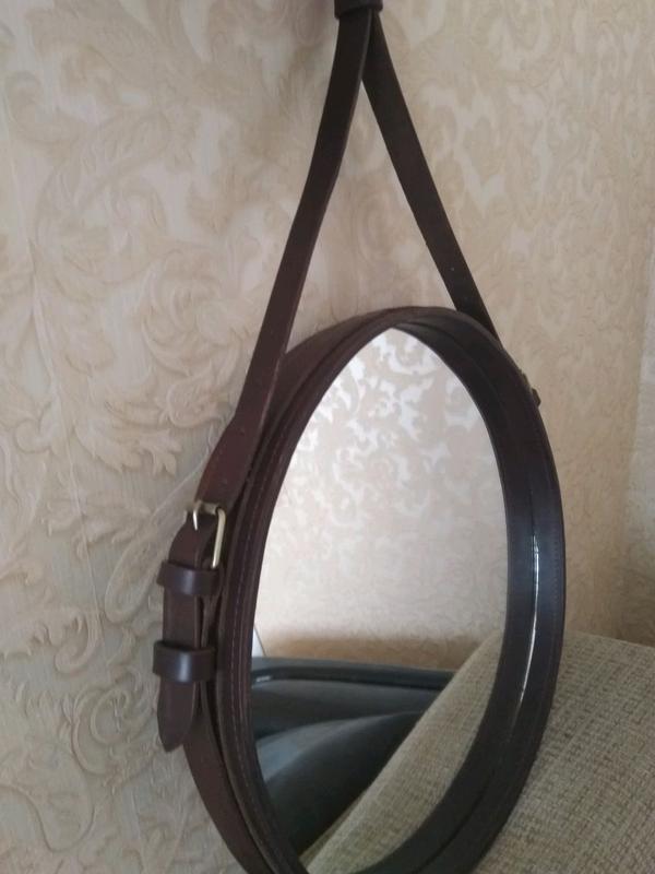 Зеркало круглое - Фото 2