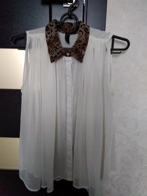 Блуза рубашка - Фото 2
