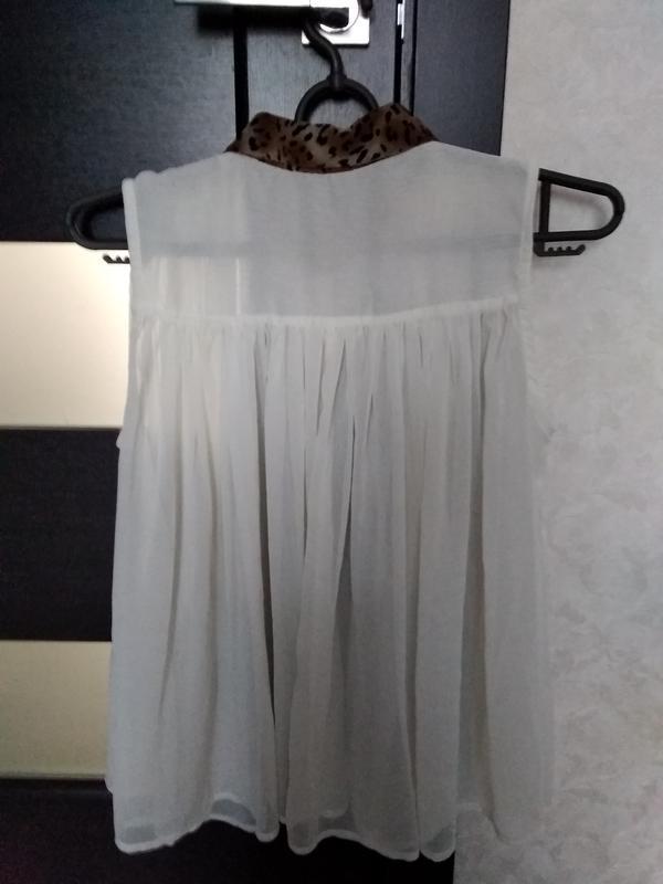 Блуза рубашка - Фото 3