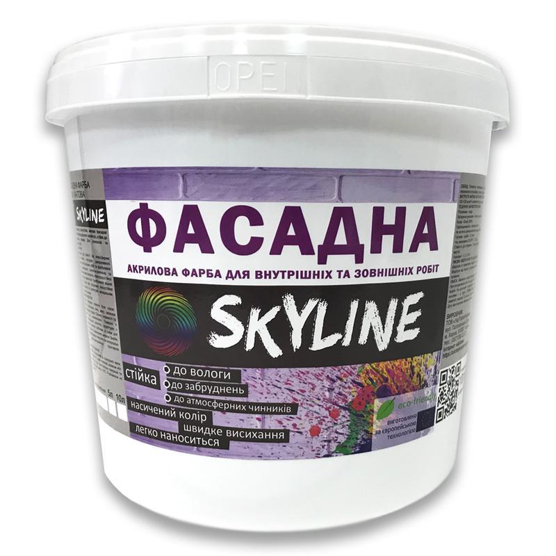 Краска ФАСАДНАЯ Skyline 10л на кирпич, бетон, штукатурку