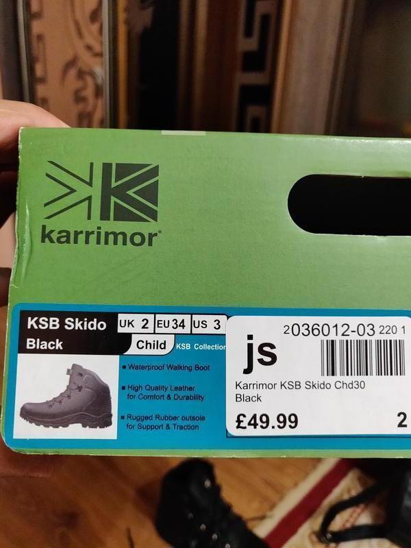 Ботинки Kerrimor ksb skido на мальчика - Фото 8
