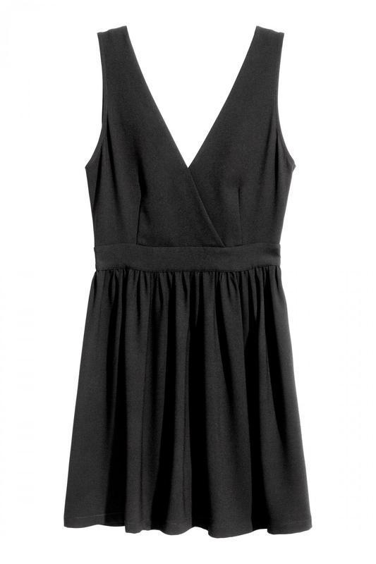 Платье с треугольным вырезом h&m - Фото 2