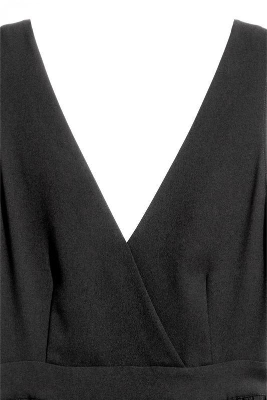 Платье с треугольным вырезом h&m - Фото 3