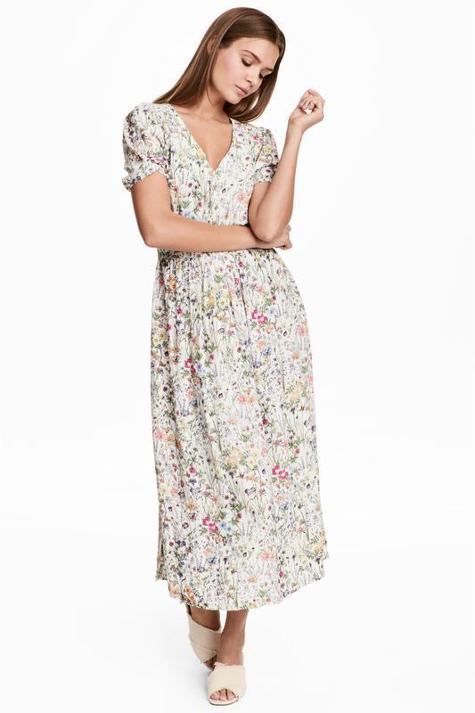 Платье с треугольным вырезом h&m размер 38