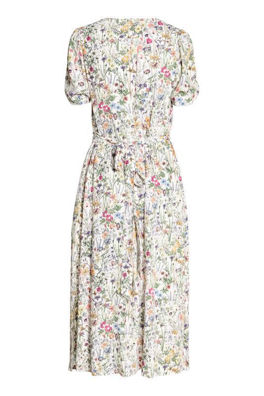 Платье с треугольным вырезом h&m размер 38 - Фото 3