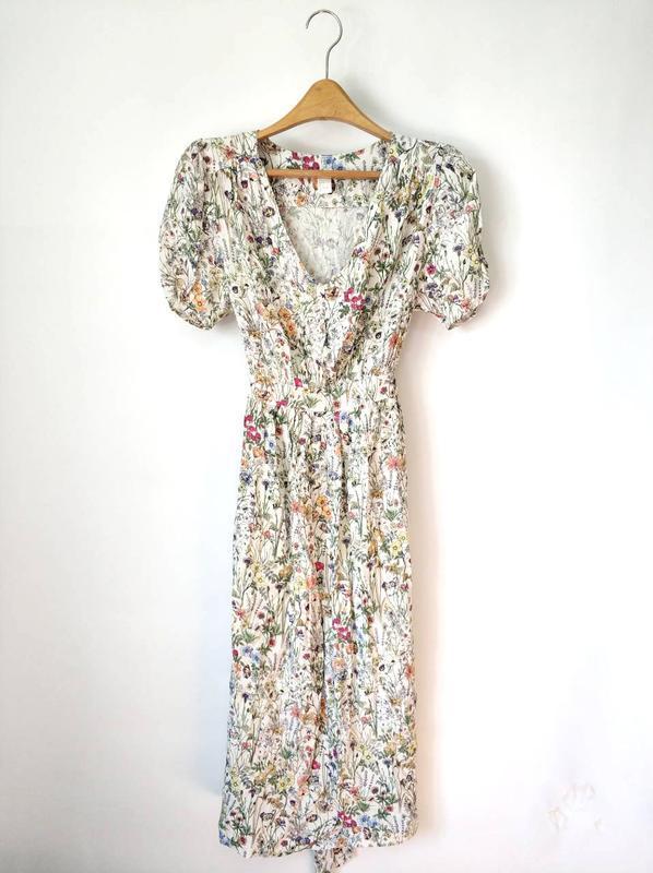 Платье с треугольным вырезом h&m размер 38 - Фото 5