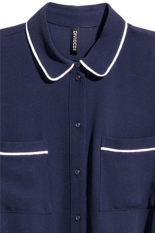 Платье-рубашка h&m размер 34 - Фото 3