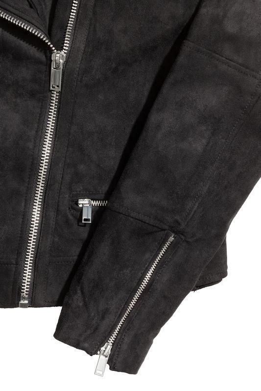 Куртка байкерская h&m - Фото 3