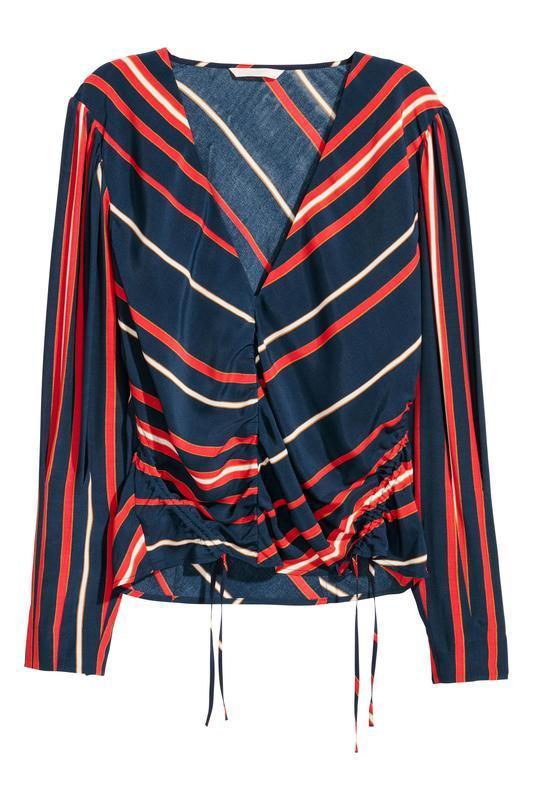 Блузка с треугольным вырезом h&m - Фото 2
