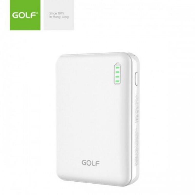 Внешний аккумулятор Power bank GOLF G73 10000 Mah батарея зарядка - Фото 2