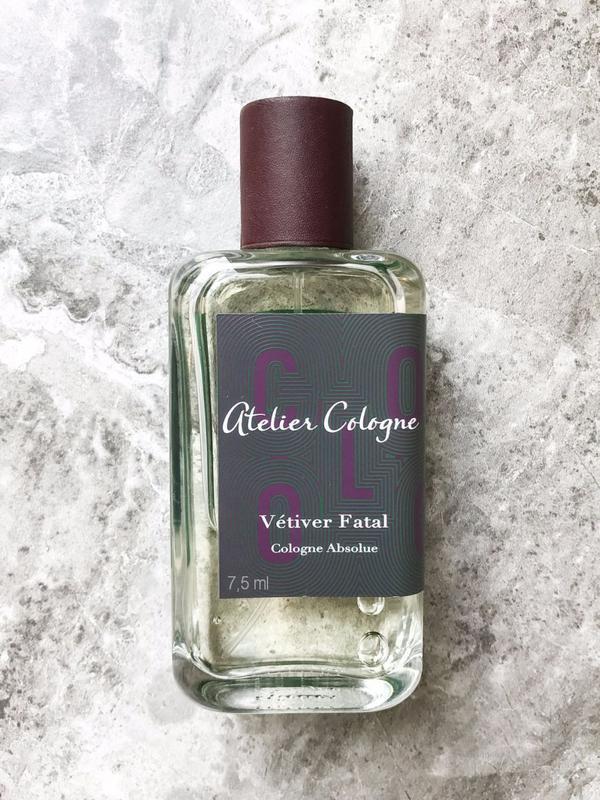 Atelier cologne _vetiver fatal_original mini 7,5 мл \ миниатюр...