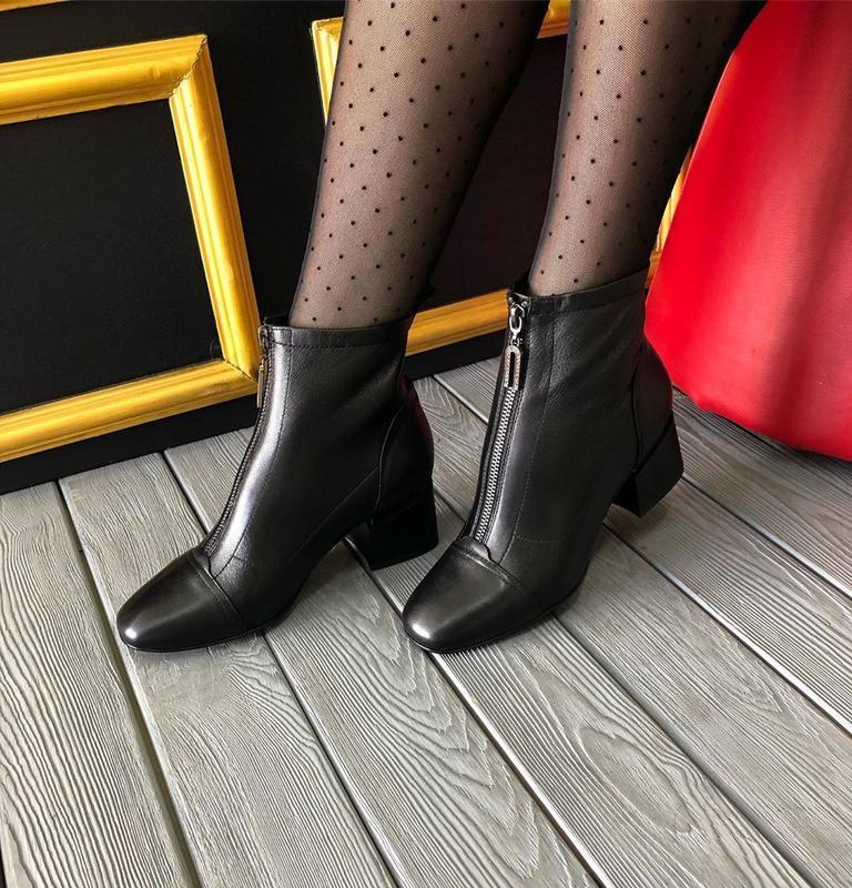 Ботинки демисезонные berkonty натуральная кожа,осень 2019