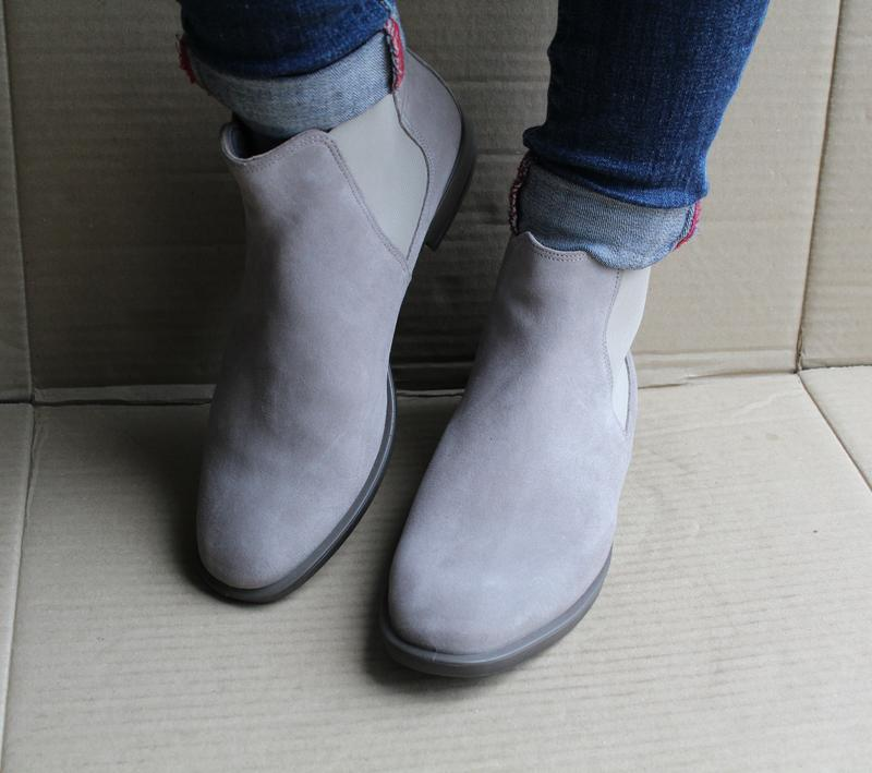 Ботинки ecco shape m 15 272063 оригінал натуральна замша