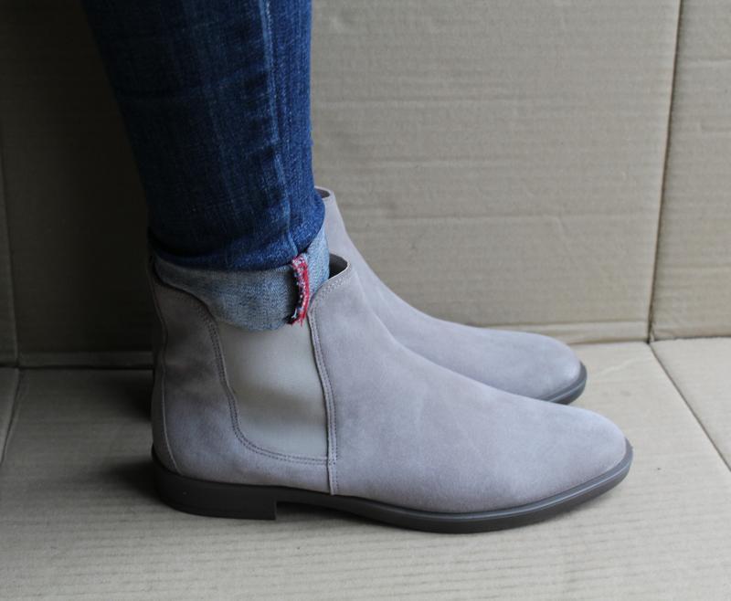 Ботинки ecco shape m 15 272063 оригінал натуральна замша - Фото 2
