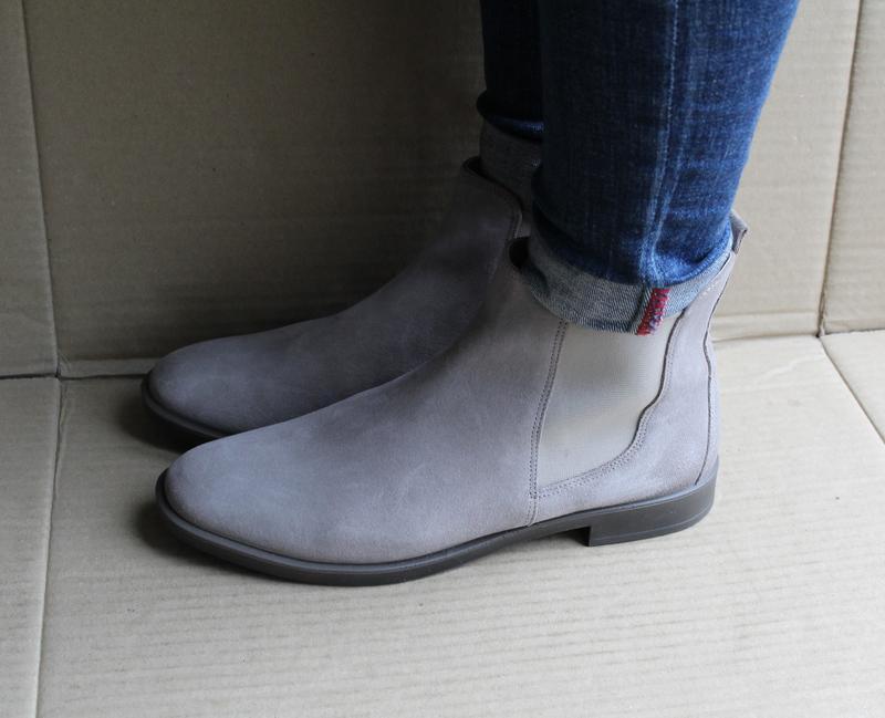 Ботинки ecco shape m 15 272063 оригінал натуральна замша - Фото 3