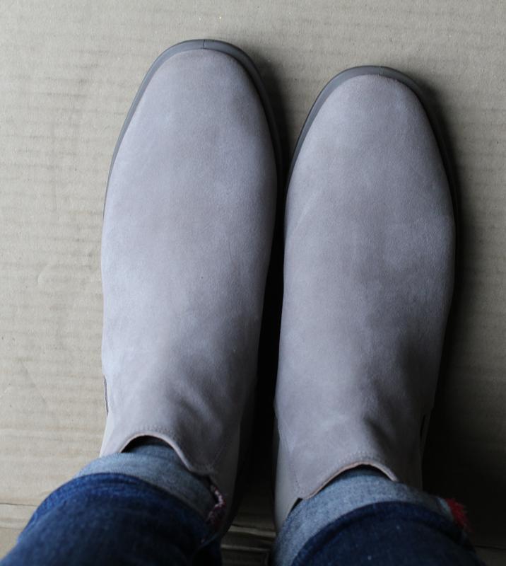 Ботинки ecco shape m 15 272063 оригінал натуральна замша - Фото 4