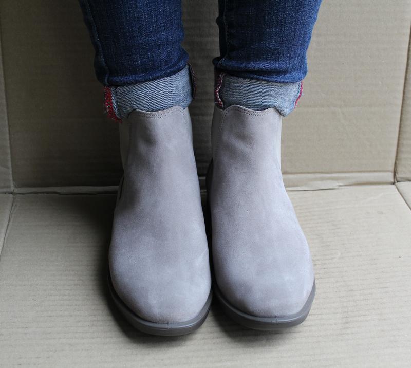 Ботинки ecco shape m 15 272063 оригінал натуральна замша - Фото 5