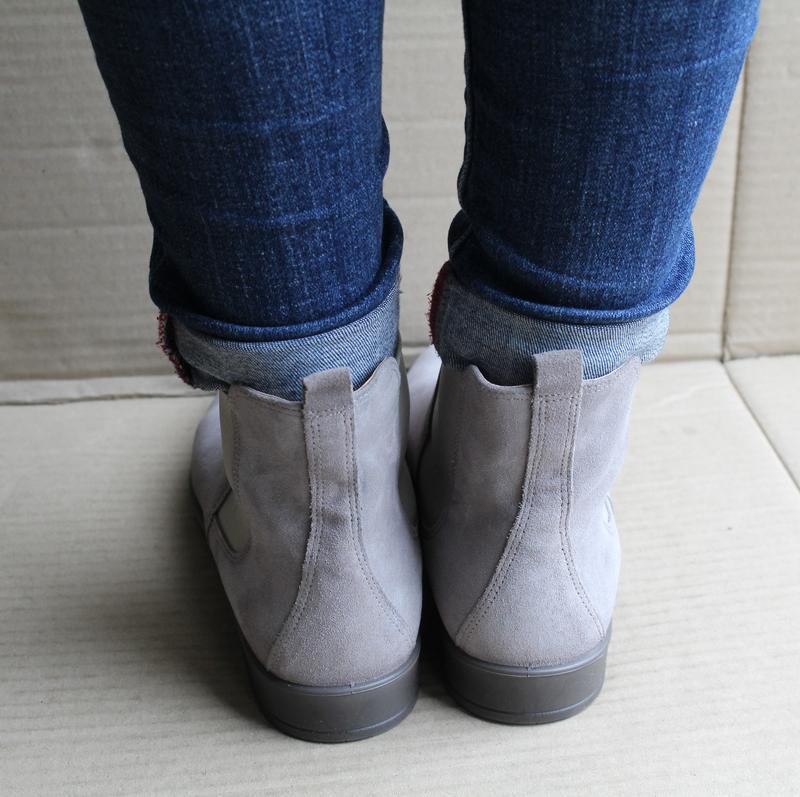 Ботинки ecco shape m 15 272063 оригінал натуральна замша - Фото 8
