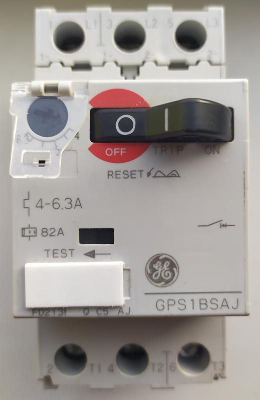 Выключатель двигателя 2,2кВт GENERAL ELECTRIC
