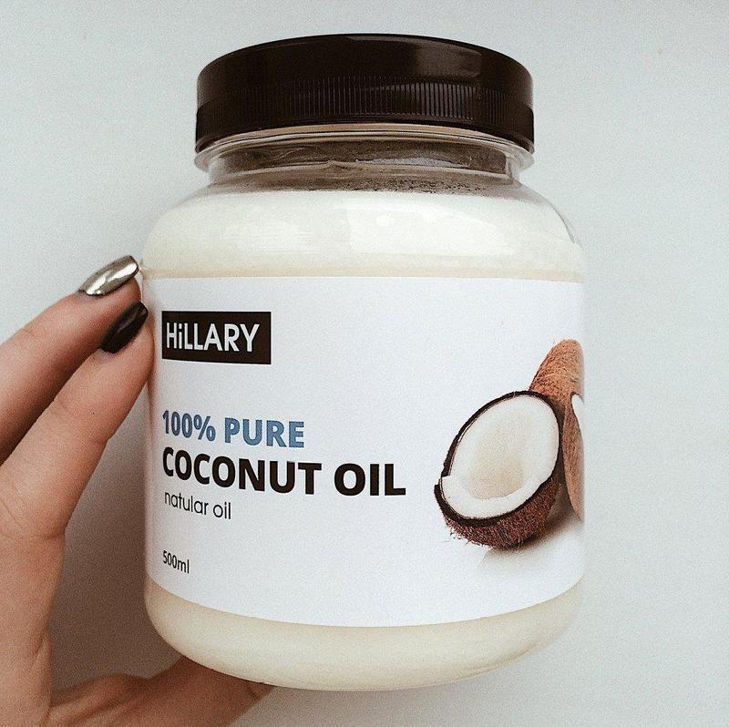 Кокосовое масло рафинированное hillary premium quality coconut...