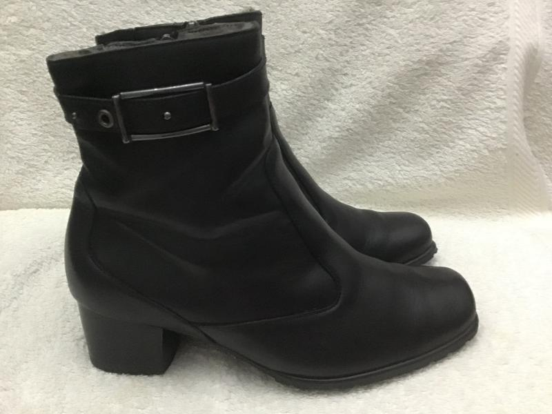 Сапожки ботинки кожаные luftpolster 36.5(3.5)