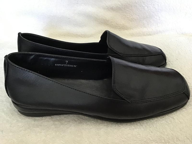 Туфли кожаные foot glove 41(7)p - Фото 2