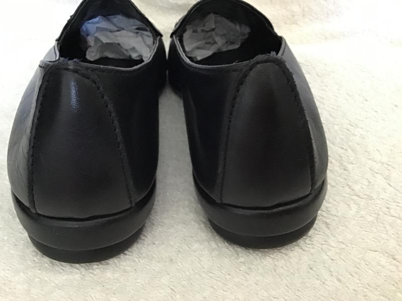 Туфли кожаные foot glove 41(7)p - Фото 7