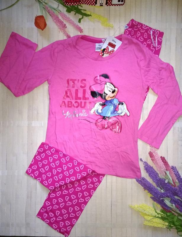 Пижама со штанами минни маус disney minnie mouse 116/122
