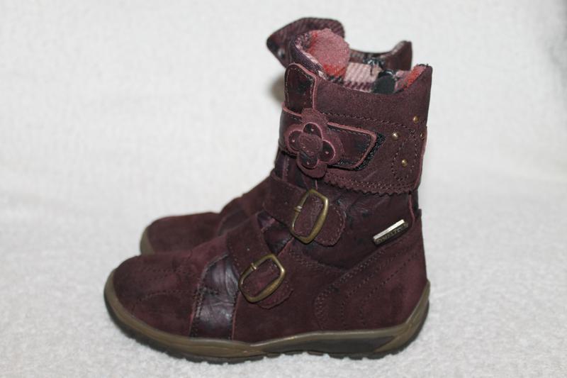 Ботинки-сапожки замш-кожа daumling sympa-tex25р