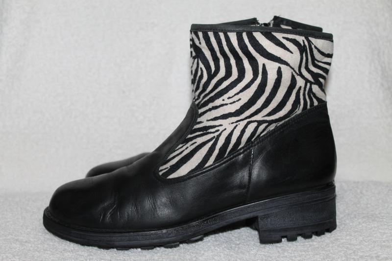 П\сапожки-ботинки кожаные bc 39p