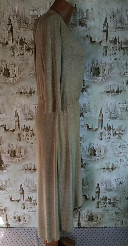Красивое платье на запах. на бирке- l р-р (46-48) - Фото 3
