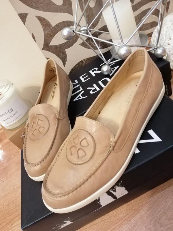 Стильные туфли мокасины лоферы naturalizer