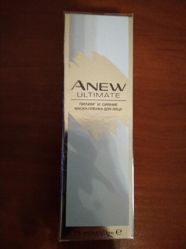 """Anew avon  маска-пленка для лица """"пилинг и сияние"""" 45+ - Фото 3"""