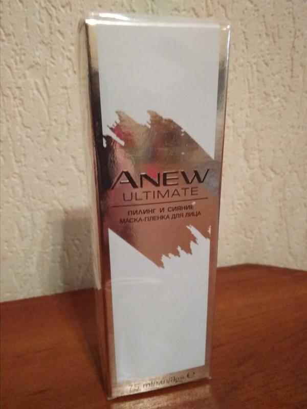 """Anew avon  маска-пленка для лица """"пилинг и сияние"""" 45+ - Фото 4"""