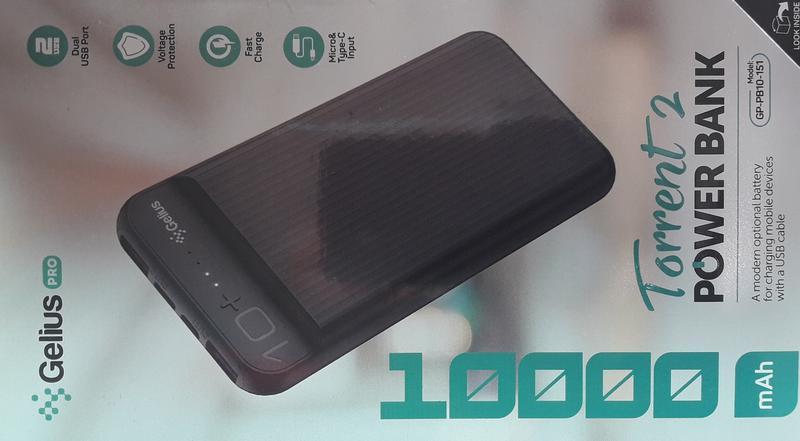Дополнительная батарея Портативная  Power bank 10000mAh