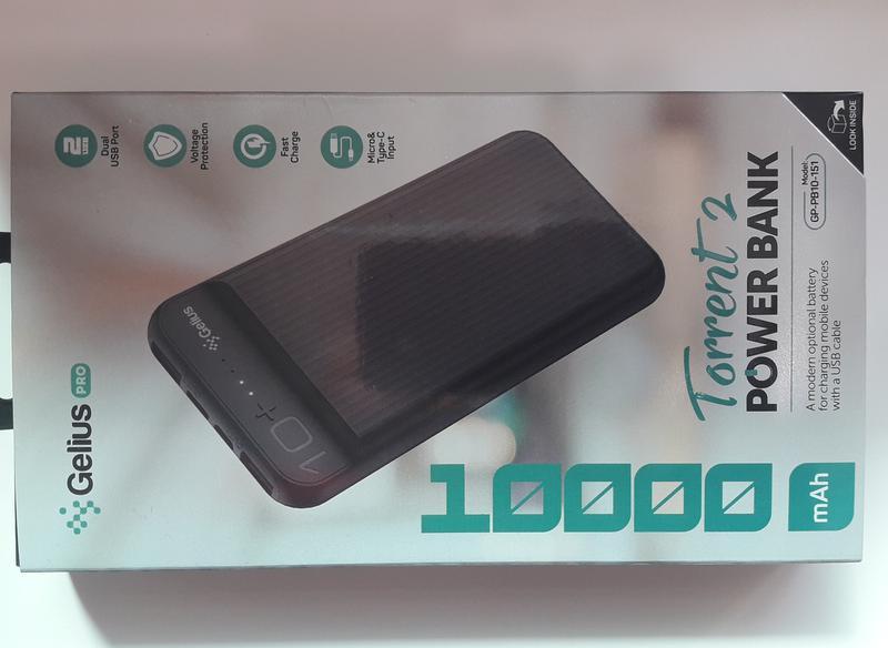 Дополнительная батарея Портативная  Power bank 10000mAh - Фото 7